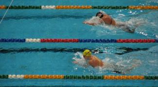 Летние олимпийские виды спорта: плавание