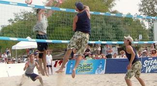 Как играть в пляжный волейбол