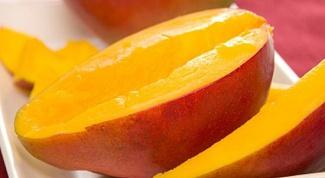 Как приготовить десерт из моркови и манго