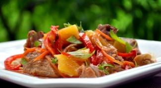 Как приготовить тушеные овощи с кетчупом