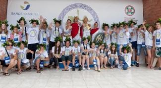 Как прошла Диаспартакиада-2012 для детей с диабетом в Сочи