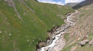 Как действовать во время схода селя в горах