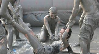 Как прошел фестиваль грязи в Корее