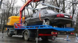 Как изменится цена на эвакуацию машины