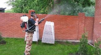 Чем обработать участок от комаров