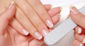 Как удлинить короткие ногти