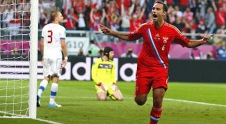 Как прошел матч Россия-Чехия на Евро 2012