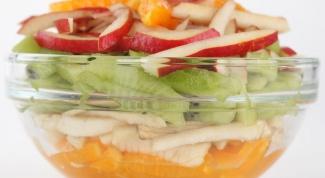 Как приготовить сладкий фруктовый салат