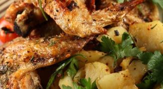 Как приготовить картошку с курицей