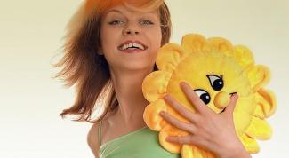 Как сшить игрушку-подушку