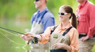 Как заинтересовать жену рыбной ловлей