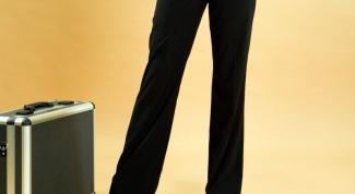 Как сшить классические женские брюки