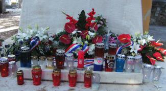 Как проходит День победы и отечественной благодарности в Хорватии