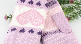 Как вязать рукавички спицами