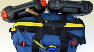Как сшить сумку для инструментов