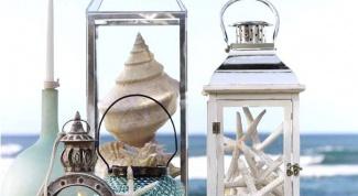Как использовать морские ракушки в декоре
