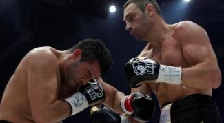 Как прошел бой Кличко и Чарра за звание чемпиона мира