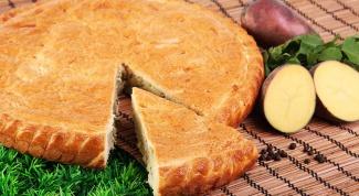 Как приготовить пирог с картошкой и курицей