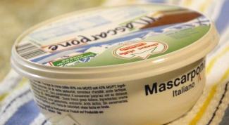 Охлажденные десерты со сливочным сыром маскарпоне