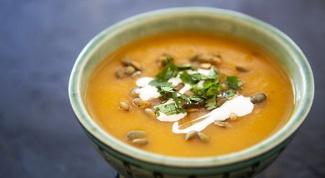 Какие супы варят из тыквы