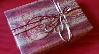 Что подарить любимому
