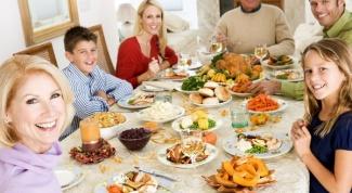 Праздничный стол для диабетика