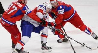 Лучшие российские хоккеисты