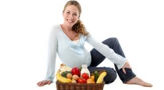 Белковая диета для беременных