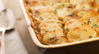 Быстрая картофельная запеканка