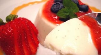 Вкусный рецепт панакоты
