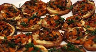 Греческие баклажаны, запеченные в духовке