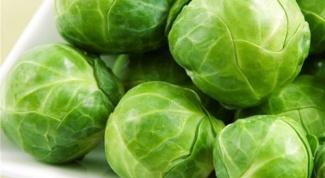 Полезные свойства брюссельской капусты