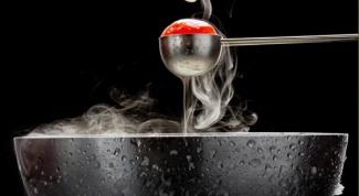 Молекулярная еда: шоу химиков