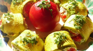 Diet dishes zucchini