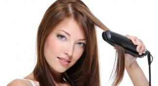 Как пользоваться утюжками для волос