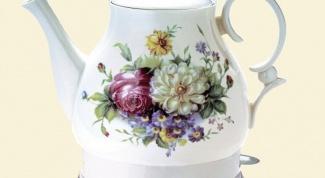 Электрический чайник из керамики