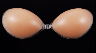 Rules of selection of silicone bra
