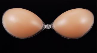 Правила выбора силиконового  бюстгальтера