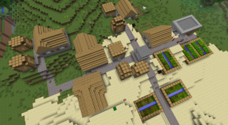 How to quickly find a village in Minecraft