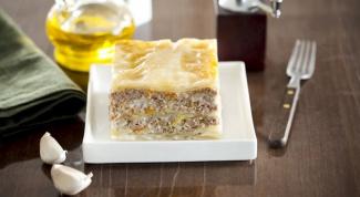 Рецепты лазаньи в мультиварке