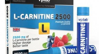 Carnitine: instructions for use