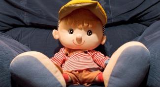 Как сделать капроновую куклу