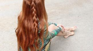 Как заплести косу на боку