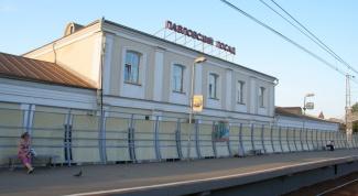 How to get to Pavlovskiy Posad
