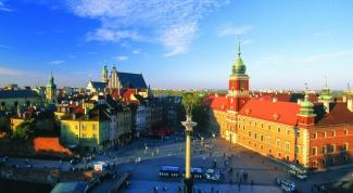 Как добраться до Варшавы