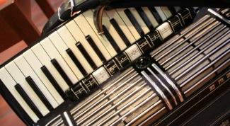 Как играть на аккордеоне