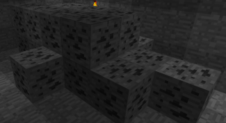 Как добыть уголь в Minecraft