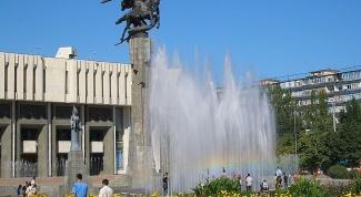 Как добраться до Бишкека