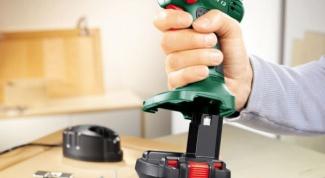 How to repair battery screwdriver