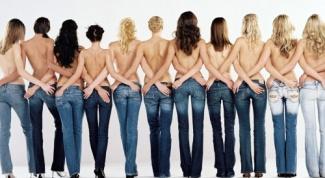 Как должны сидеть джинсы